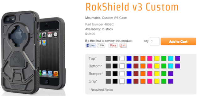 RokShield v3 Custom options