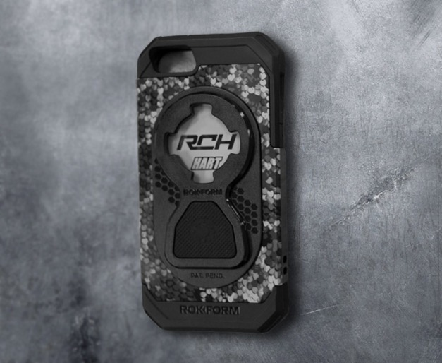 Rokform made Carey a custom Fuzion+ case!