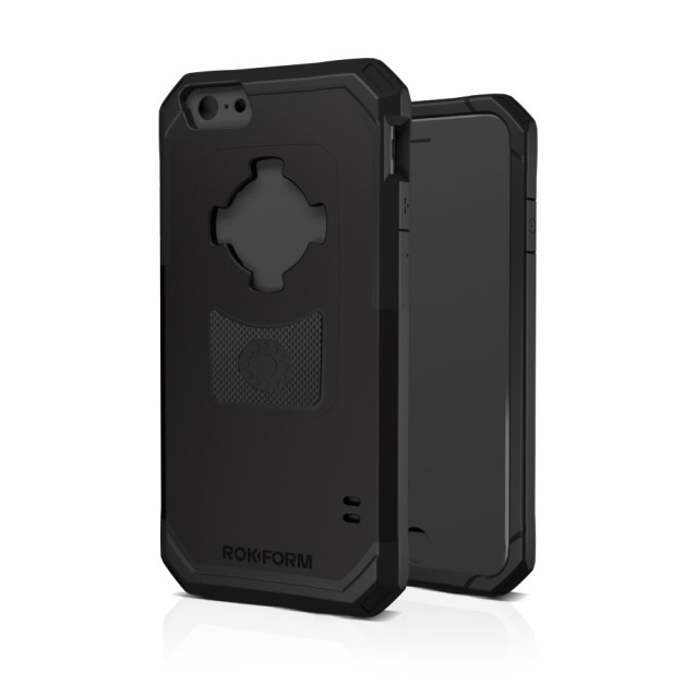 The Rokform Sport Case in all black for the iPhone 6